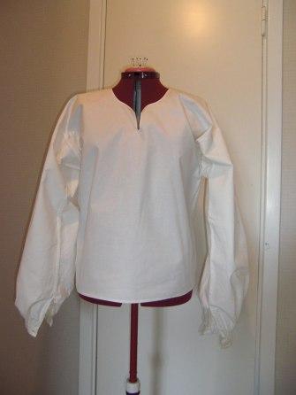skjorta skedevi fram