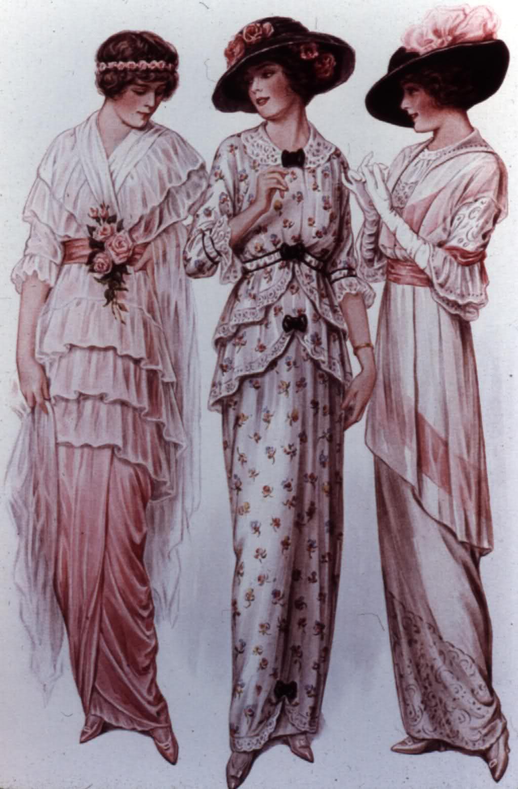 Fashion Through The Decades: Edwardian Beauties