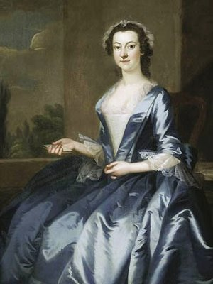 1749-52 John Wollaston (1733-1767) Portrait of a Woman Art Insti of Chicago
