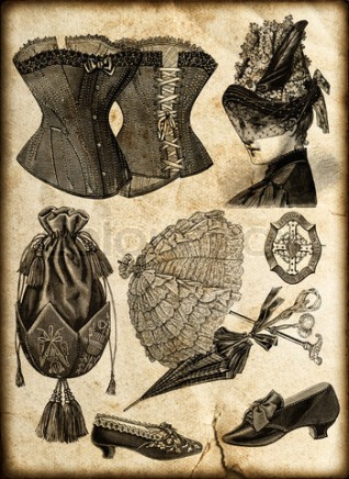 vintage fashion accessories for lady