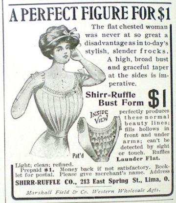 1912 pigeon waist