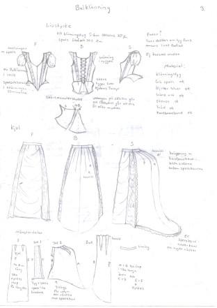 balklänning produktteckning