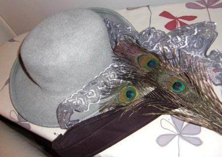 hatt silver omonterad