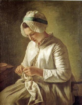 francoise-duparcwomanknitting
