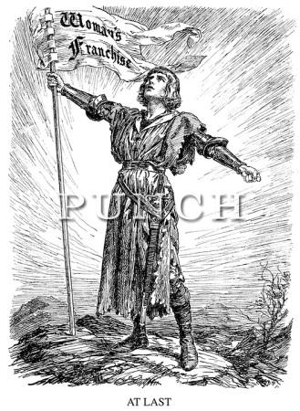 Suffragettes-Votes-For-Women-Cartoons-Punch-Magazine-1918-01-23-57
