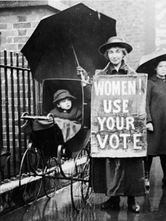 Suffragette Protestor