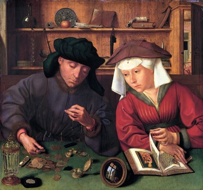 Moneylender and His Wife