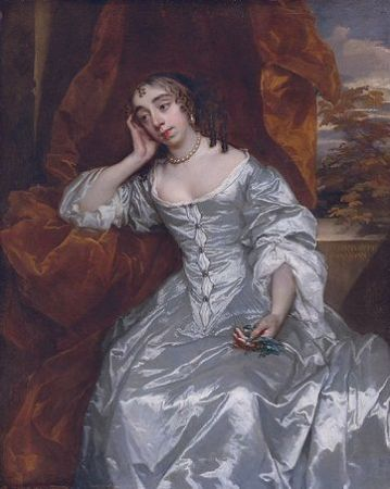 Elizabeth Capell, Countess of Carnarvon, ca. 1665 (Sir Peter Lely)