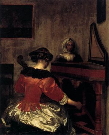 Gerard_ter_Borch_(II) - The_Concert ca. 1675