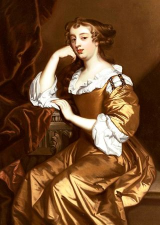 Peter Lely. Portrait of Elizabeth Wriothesley, Countess of Northumberland, and later Countess of Montagu, 1668.