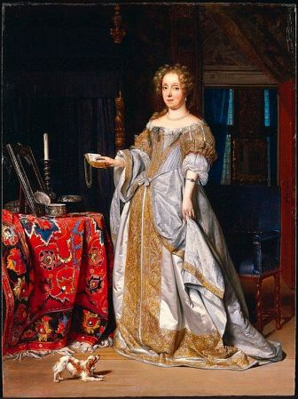 Portrait of a Lady by Gabriel Metsu